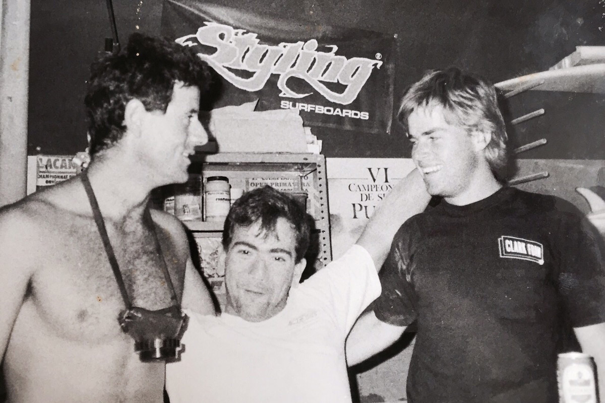 Marcelo, Alfonso & Garth, Styling Factory 1987